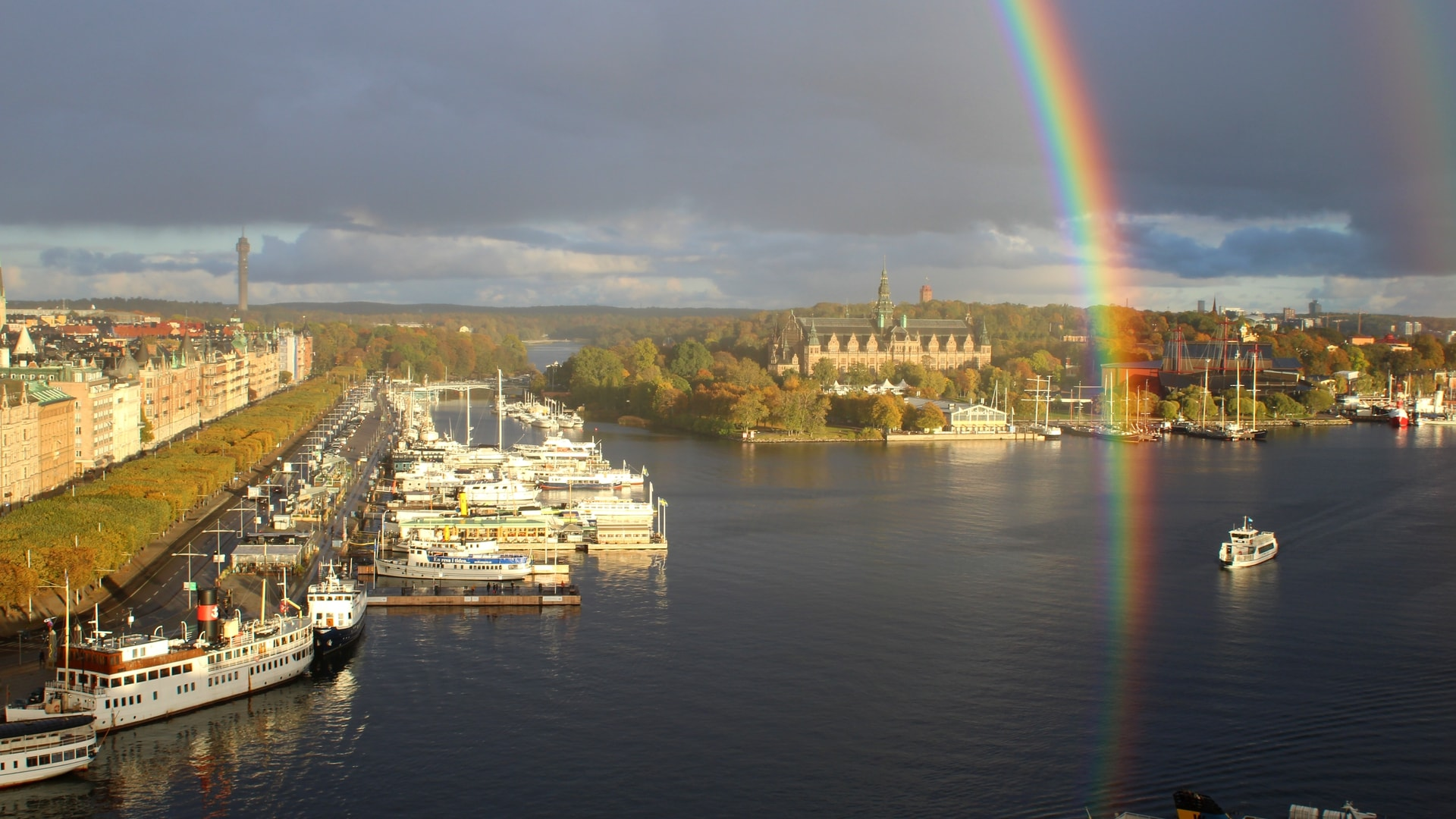 Rainbows over Stockholm from the Radisson Collection, Strand Stockholm